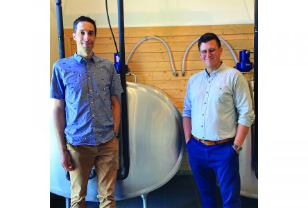 Ayer's Cliff milk company hits major milestone