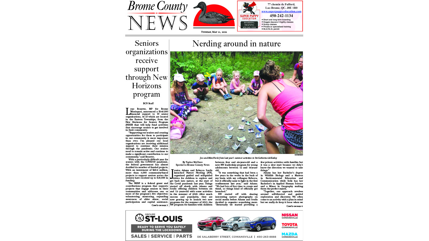 Brome County News – May 11, 2021 edition