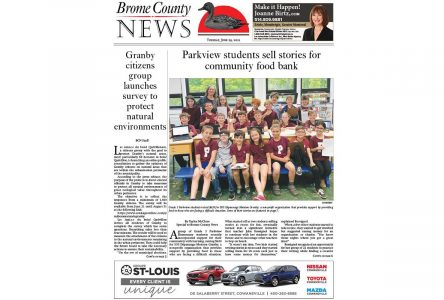Read the entire June 29, 2021 edition of Brome County News online
