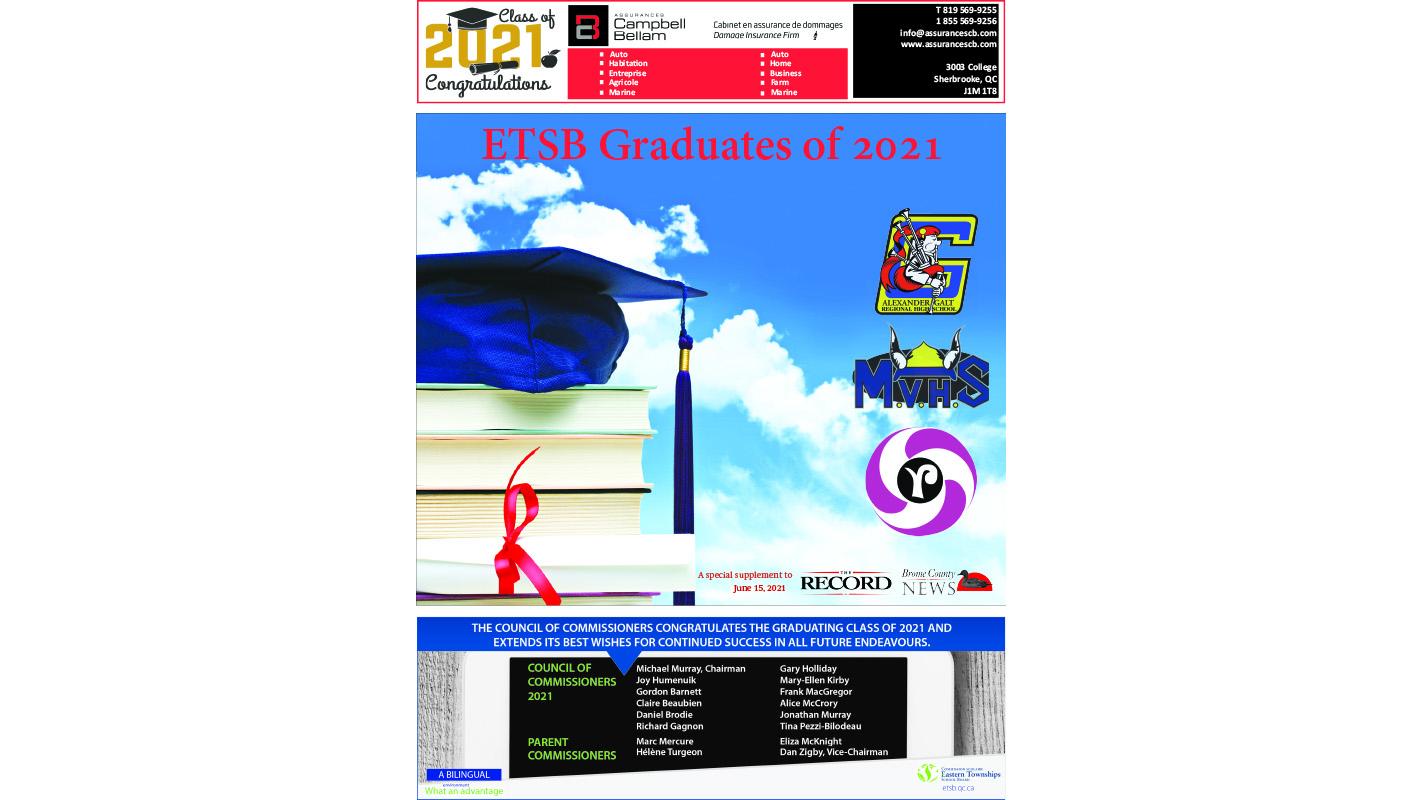 ETSB Graduates of 2021