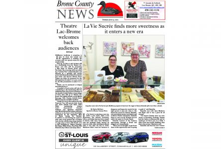 Read the entire July 13 edition of Brome County News online
