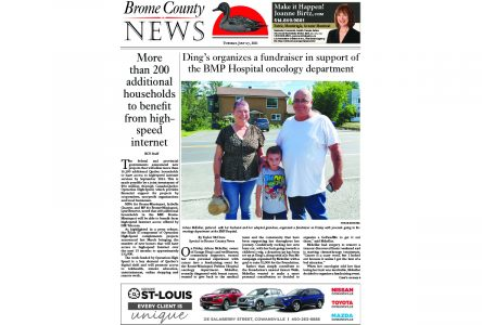 Brome County News – July 27, 2021 edition