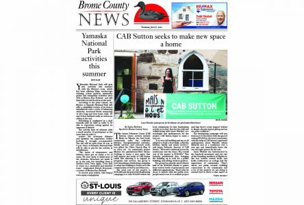 Brome County News – July 6, 2021 edition