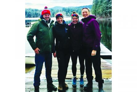 Provincial rowing head coach cheers on former Knowlton club member