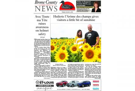 Brome County News – August 17, 2021 edition