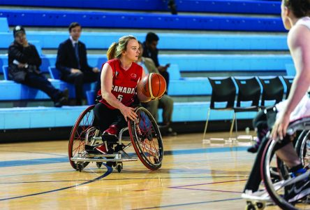 Wheelchair basketball player sets sights on first Paralympic Games