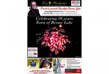 Celebrating 50 years: Town of Brome Lake