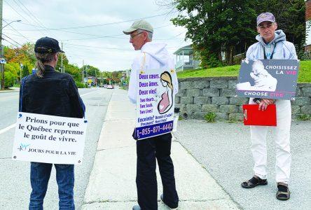 Pro-life 40-day vigil begins in Sherbrooke