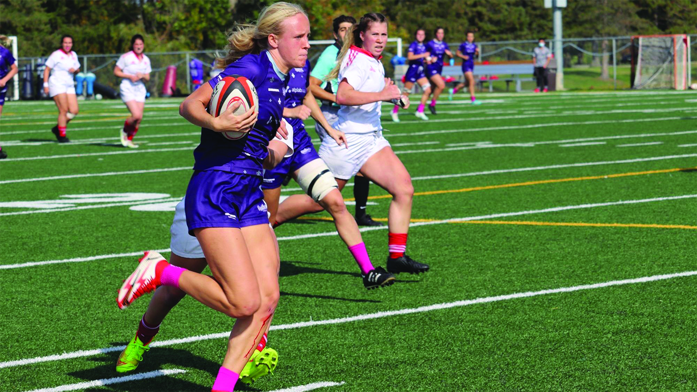 Gaiters stuff Martlets on Thanksgiving Saturday in Lennoxville