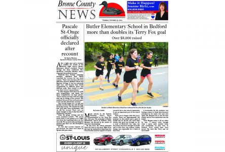 Brome County News – Oct. 19, 2021 edition