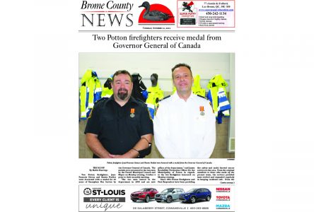 Brome County News – Oct. 12, 2021 edition